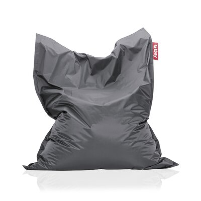 Original Bean Bag Lounger Upholstery: Dark Gray