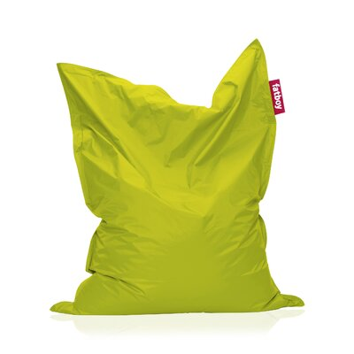 Original Bean Bag Lounger Upholstery: Lime Green