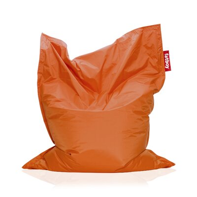 Original Bean Bag Lounger Upholstery: Orange