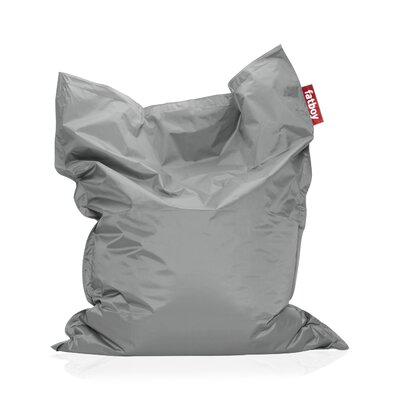 Original Bean Bag Lounger Upholstery: Silver