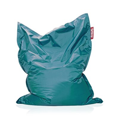 Original Bean Bag Lounger Upholstery: Turquoise