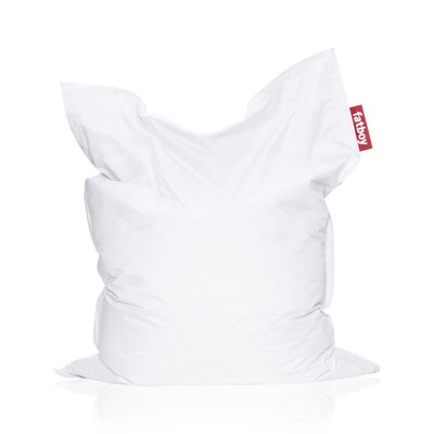 Original Bean Bag Lounger Upholstery: White