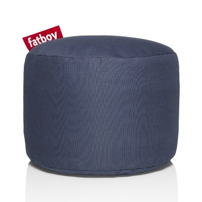 Point Stonewashed Bean Bag Chair Upholstery: Blue