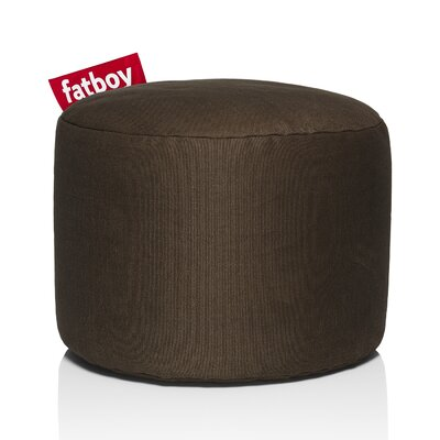 Point Stonewashed Bean Bag Chair Upholstery: Brown
