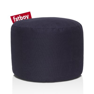 Point Stonewashed Bean Bag Chair Upholstery: Dark Blue