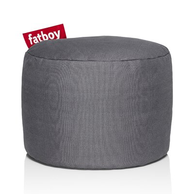 Point Stonewashed Bean Bag Chair Upholstery: Grey