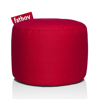 Point Stonewashed Bean Bag Chair Upholstery: Red