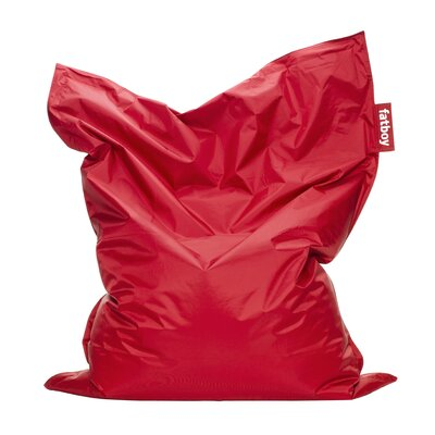 Original Bean Bag Lounger Upholstery: Red