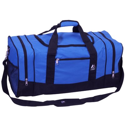 "Everest 25"" Sporty Travel Duffel - Color: Royal Blue/Black at Sears.com"