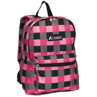 Everest Basic Pattern Backpack - Color: Pink at Sears.com