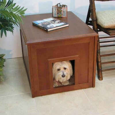 Crown Pet Dog Cabinet Color: Mahogany