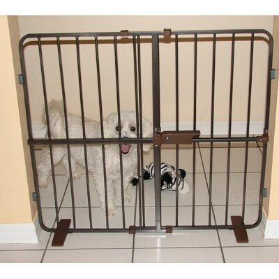 Flexi Fit Pressure Mounted Pet Gate Size: 23 H x 27 W x 2 D