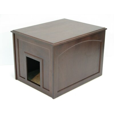 Ewan Cat Condo & Litter Box Enclosure Finish: Espresso