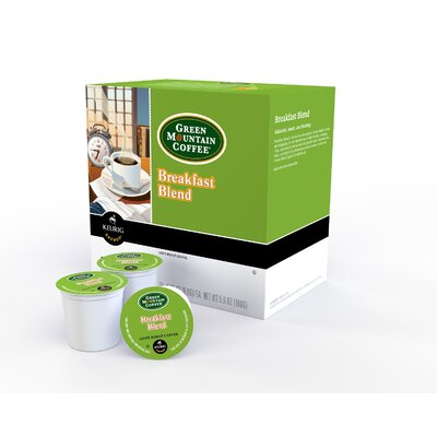 Green Mountain Breakfast Blend K-Cup (Pack of 72) 00520BULK