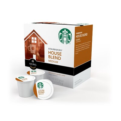 Keurig Starbucks House Blend K-Cup (Pack of 96) 09516-6PK