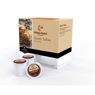 Gloria Jean's Butter Toffee Coffee K-Cup