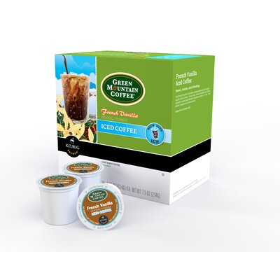 Green Mountain Coffee Roasters French Vanilla Iced Coffee K-Cup