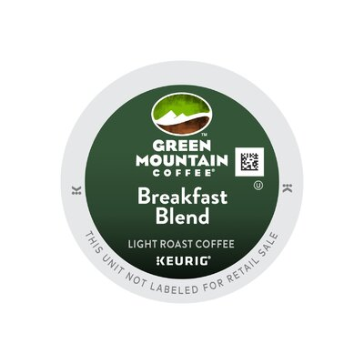 Green Mountain Coffee Roasters BreakFast Blend Coffee K-Cup (Pack of 108) 520-108