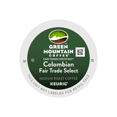 Keurig Green Mountain Coffee Roasters Colombian Decaf 108 K-Cups 110027 PB4710-108 KEU CASPK NST COlombian(D)