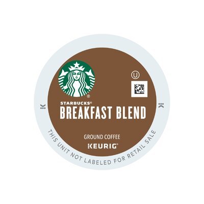 Starbucks Breakfast Blend Coffee  K-Cups 9513-096