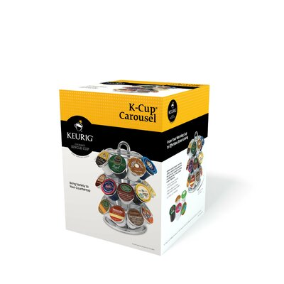 Keurig K-Cup Carousel in Chrome