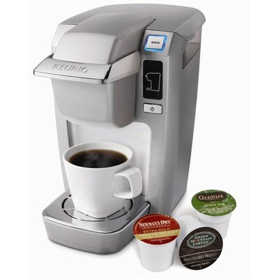 Keurig B31 Mini Plus Coffee Maker in Platinum