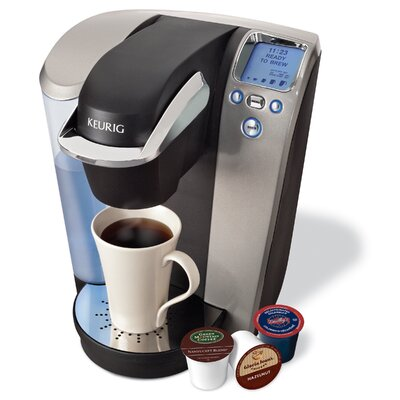Keurig B70 Coffee Maker in Platinum