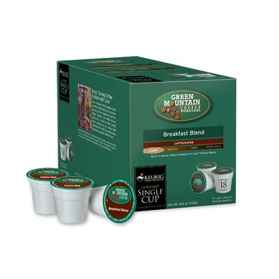 Green Mountain Coffee Roasters BreakFast Blend Coffee K-Cup