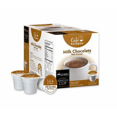 Caf Escapes Milk Choc Hot Cocoa K-Cup