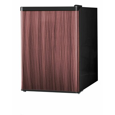 24 Cu Ft Compact Refrigerator Finish Brown image