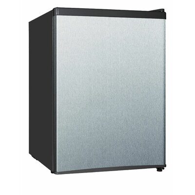 24 Cu Ft Compact Refrigerator Finish Silver image