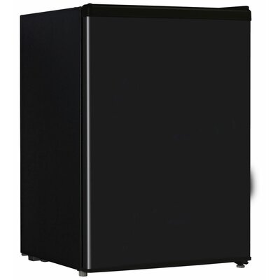 24 Cu Ft Compact Refrigerator Finish Black image