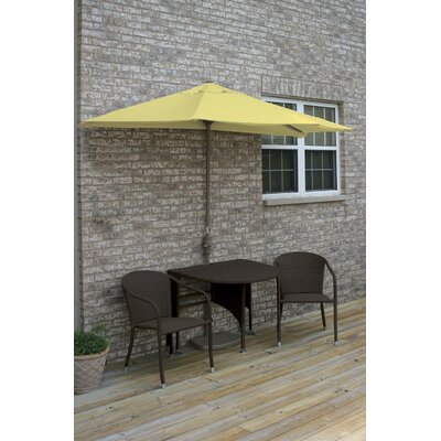 Terrace Mates Genevieve 5 Piece Dining Set Color: Yellow