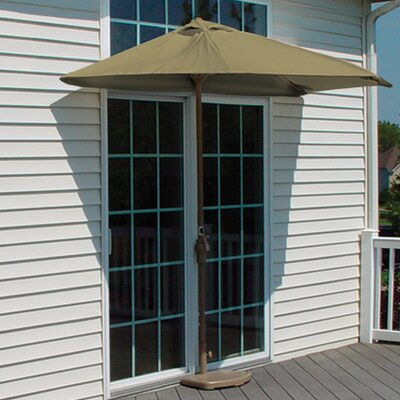 9 Off-The-Wall Brella Market Umbrella Fabric: Antique Beige Olefin