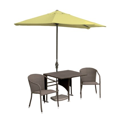 Terrace Mates Daniella 5 Piece Dining Set Color: Yellow