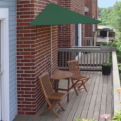 Terrace Mates Bistro Premium 5 Piece Dining Set Color: Green SolarVista
