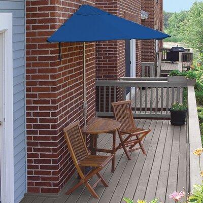 Terrace Mates Bistro Economy 5 Piece Dining Set Color: Blue Sunbrella