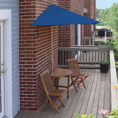 Terrace Mates Bistro Premium 5 Piece Dining Set Color: Blue Sunbrella