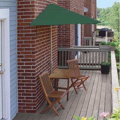 Terrace Mates Villa Standard 5 Piece Dining Set Color: Green Olefin