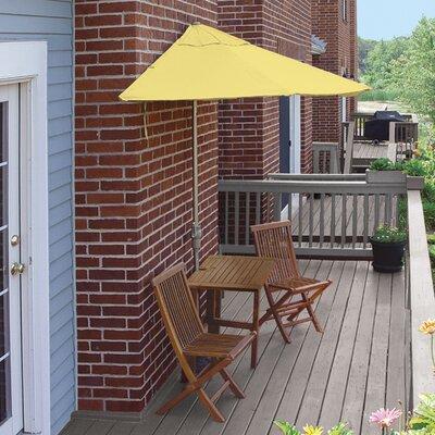 Terrace Mates Villa Standard 5 Piece Dining Set Color: Yellow Olefin