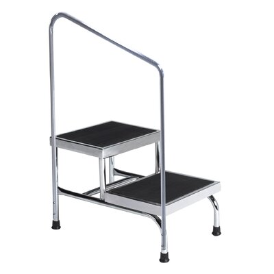 BREWER Heavy Duty Two Step, Step Stool - Style: Without Handrail at Sears.com