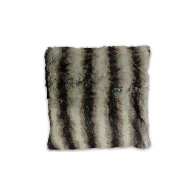 Brengar Faux Fur Throw Pillow