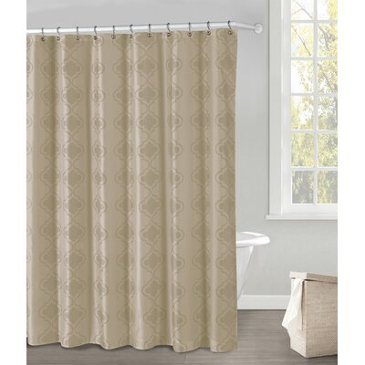 Hildebrandt Shower Curtain Color: Sand