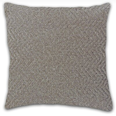 Kenai Throw Pillow Color: Heather Grey