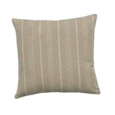 Venda Cotton Throw Pillow Color: Taupe