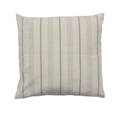 Venda Cotton Throw Pillow Color: Beige