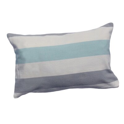 Aydin Cotton Lumbar Pillow Color: Ocean