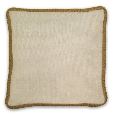 Kaya Throw Pillow Color: Linen
