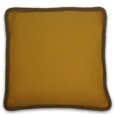 Kaya Throw Pillow Color: Yellow