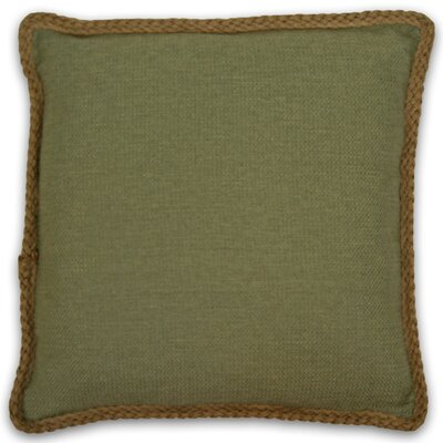 Kaya Throw Pillow Color: Olive